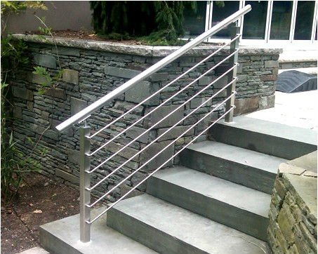 Exterior Handrails Stainless Steel Handrail For Stairs Pipe Stair Product On