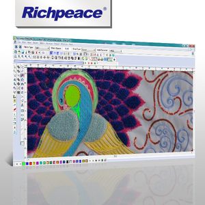 Richpeace Welcome Embroidery Design System 3D Design V6.0 CAD Software