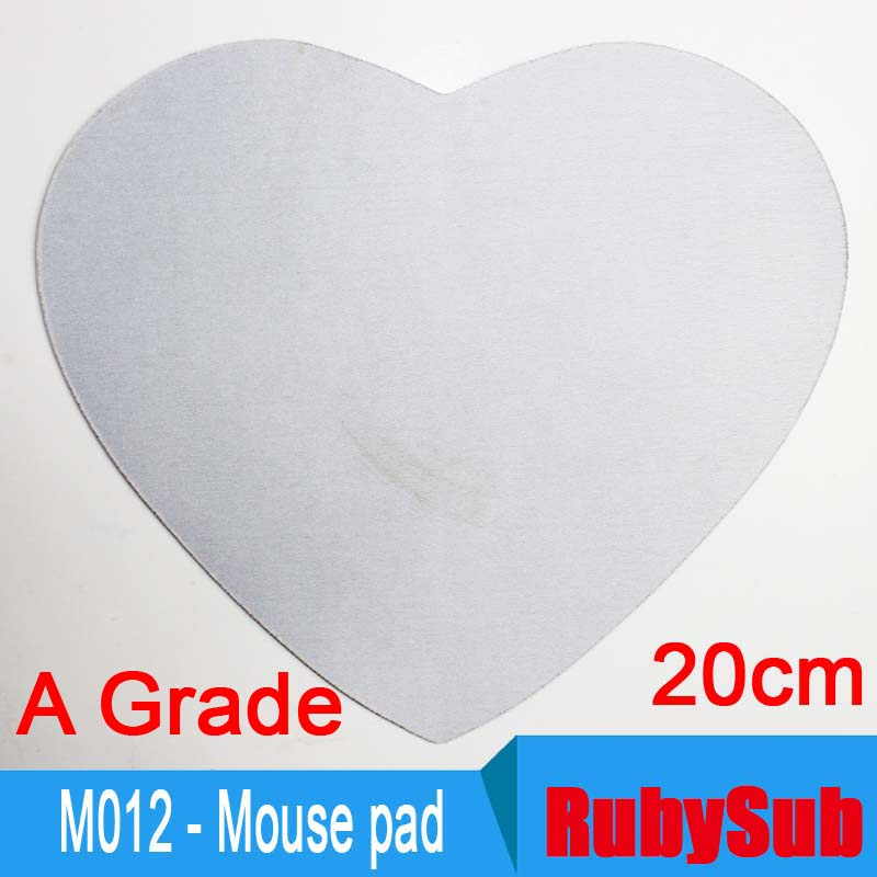 Heart-shaped Blank Sublimation Mousepad ,Personalize Gaming Mouse Pad