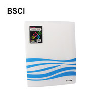 Portfolio 30 pocket A4 size office school manufacturer cover designs stationery organizer clear PP file folder,display book