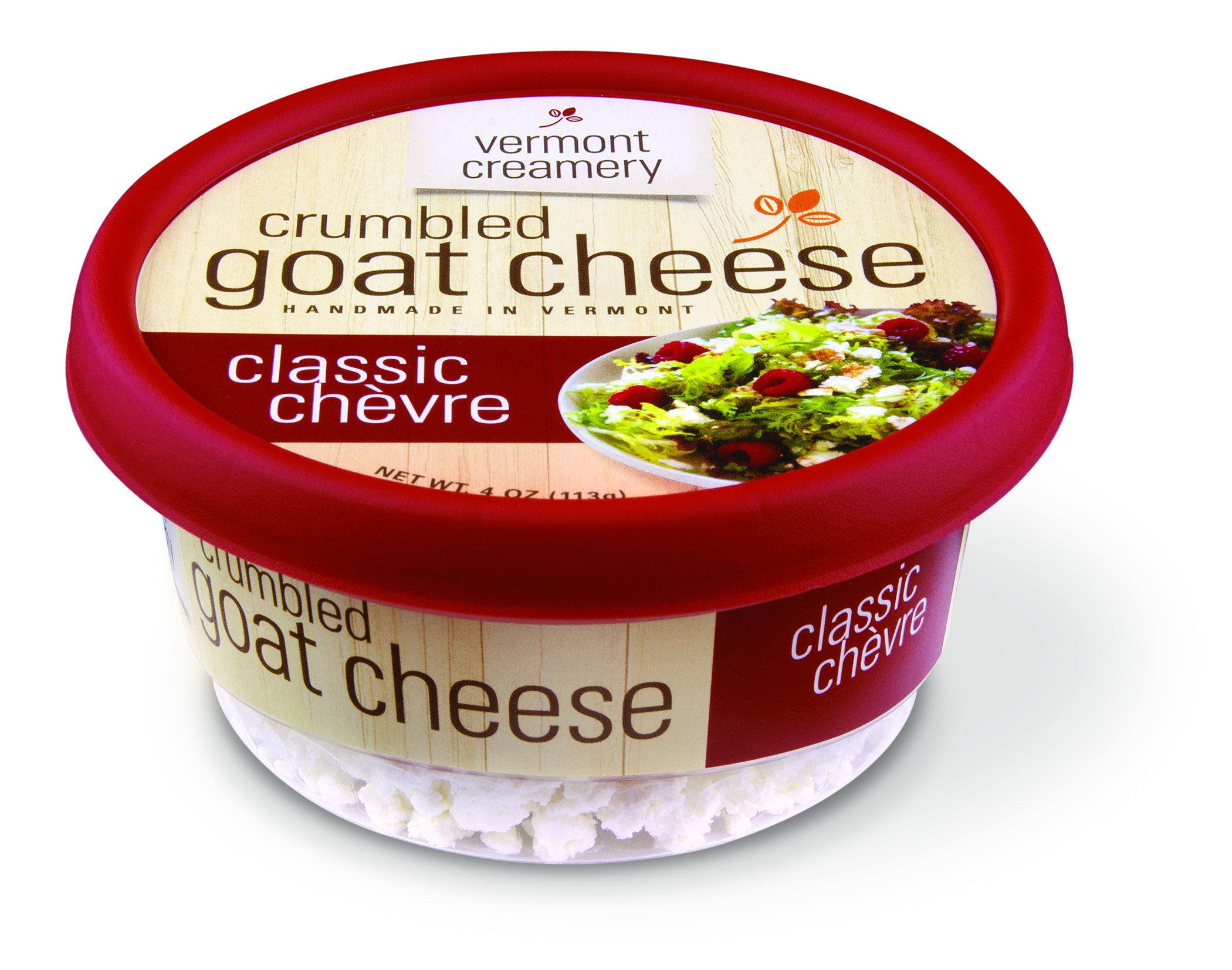 Vermont Creamery Goat Cheese Classic Crumbled, 4 oz