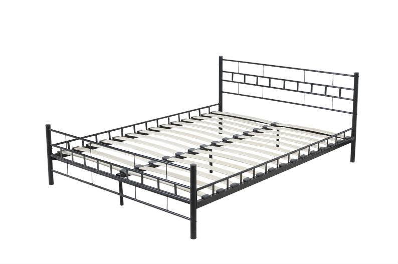 Los listones de metal tablero de la cama de metal marco de la cama ...