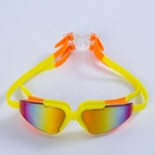 Comfortable fashion silicon swimming googles promotional silicone swim goggles