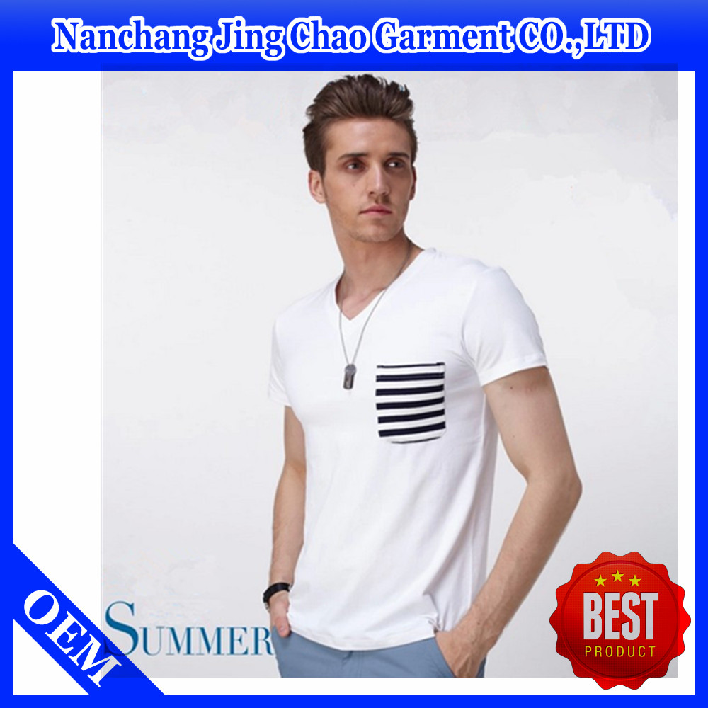 Design t shirt with front pocket - Wholesale Your Own Design T Shirt V Neck Striped Pocket T Shirt Buy Front Pocket T Shirt Striped Pocket T Shirt Your Own Design T Shirt Product On