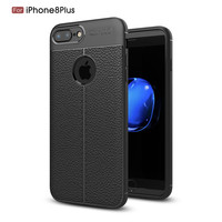 New products Leather TPU Cell Phone Protective Back Cover Case For iPhone 8 8Plus