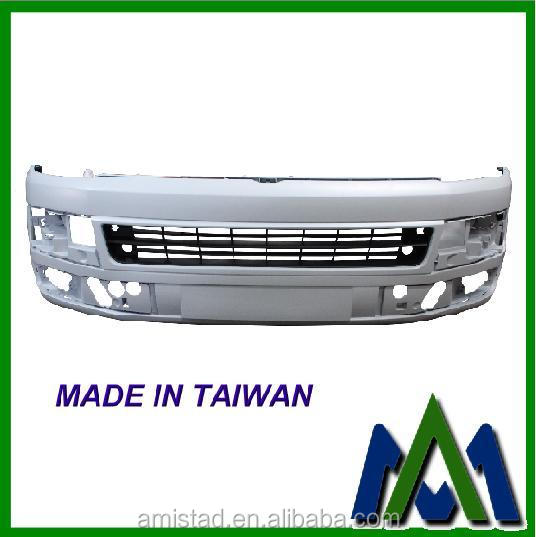 CAR KIT FRONT BUMPER FOR VW T5 TRANSPORTER 2010 W/O HEAD LAMP WASHER HOLE OEM :7E5807217MGRU OEM VW BODY PART BUMPER
