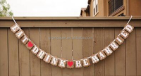 Eat drink be married banner ANY OCCASION BANNERS AND GARLANDS