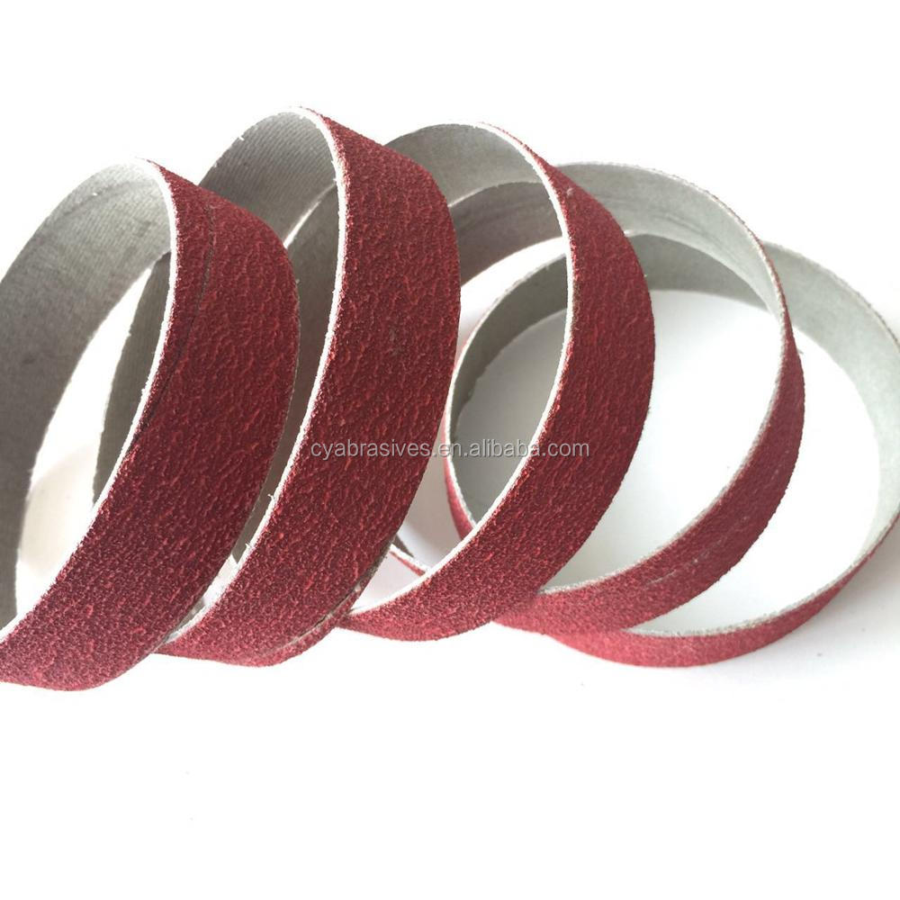 Abrasives Accessory ceramic spiral sanding band ring for knife