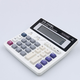 Newest Arrival DS-200ML Office using Muti-function calculator Large keys Dual power computer Solar 12 Digits calculator