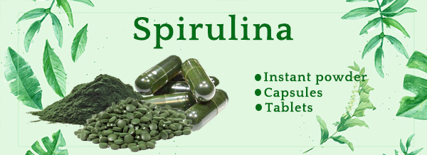 Lifeworth spirulina powder slimming capsules