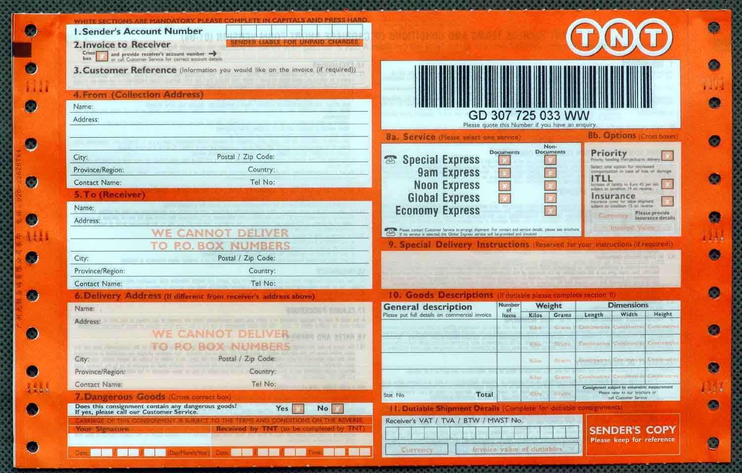 courier consignment note buy ncr paper barcode waybill logistics courier consignment note buy ncr paper barcode waybill logistics and express bill product on com