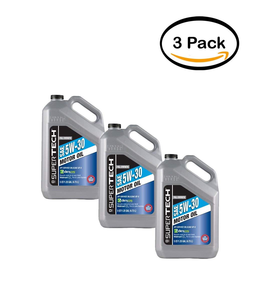 Buy Super Tech Full Synthetic Oil 5W20 5 qt in Cheap Price