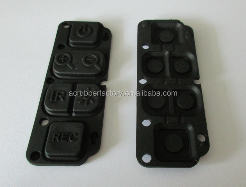 silicone rubber keypad for remote voting keypad illuminated keypad