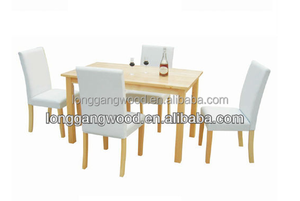 Cheapest home design christmas Outdoor Plastic Wood table and chair/sample wooden dining table and chair/dining table and chairs