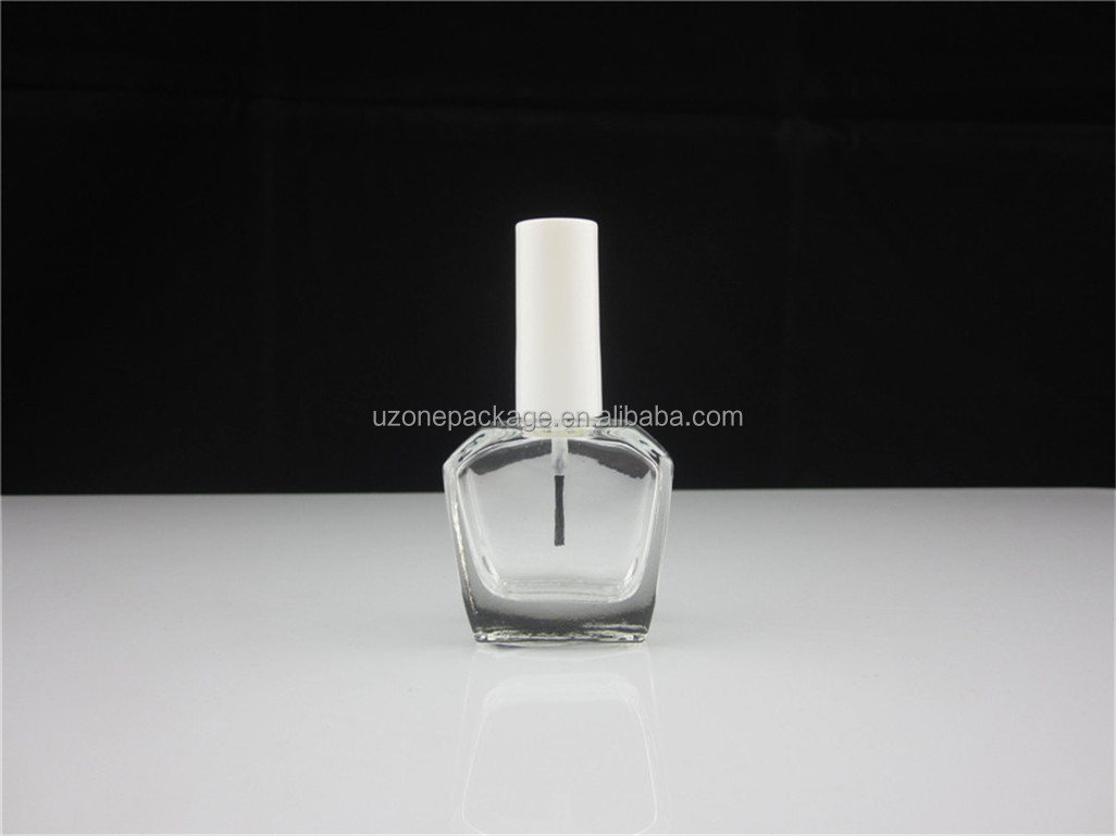 15ml deluxe bag shape nail polish bottle with brush