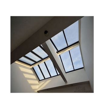 Insulated With Remote Control Motorized Roof Skylight