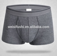 wholesale hot custom made mens 100%cotton underwear boxer