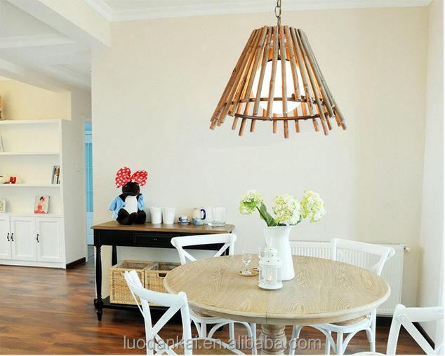 e27 rustique bois rotin pendentif abat jour bois rotin pendentif abat jour rotin pendentif. Black Bedroom Furniture Sets. Home Design Ideas