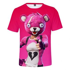 Boy Girl Custom Printing Short Sleeve 3d Sublimation Fortnite T-Shirt