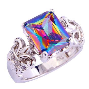 Sjae062 Sj Latest Kundan Ring Design Brass White Gold Plated Big