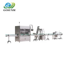 Multifunctional Food Processing line Jam Bottle Filler Capper Machine Peanut Butter Filling Labeling Capping Machine