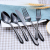 Commercial hotelware stainless steel cutlery set china wholesale hotel and restaurant tableware