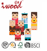 Mini Gift Family Blocks Home Wooden Crafts Decoration Wooden Blocks