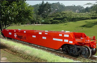 railway Flat Wagon; freight flat wagon;wagon for sale, used flat wagon