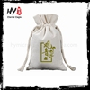 Professional small canvas jewelry drawstring bag with CE certificate