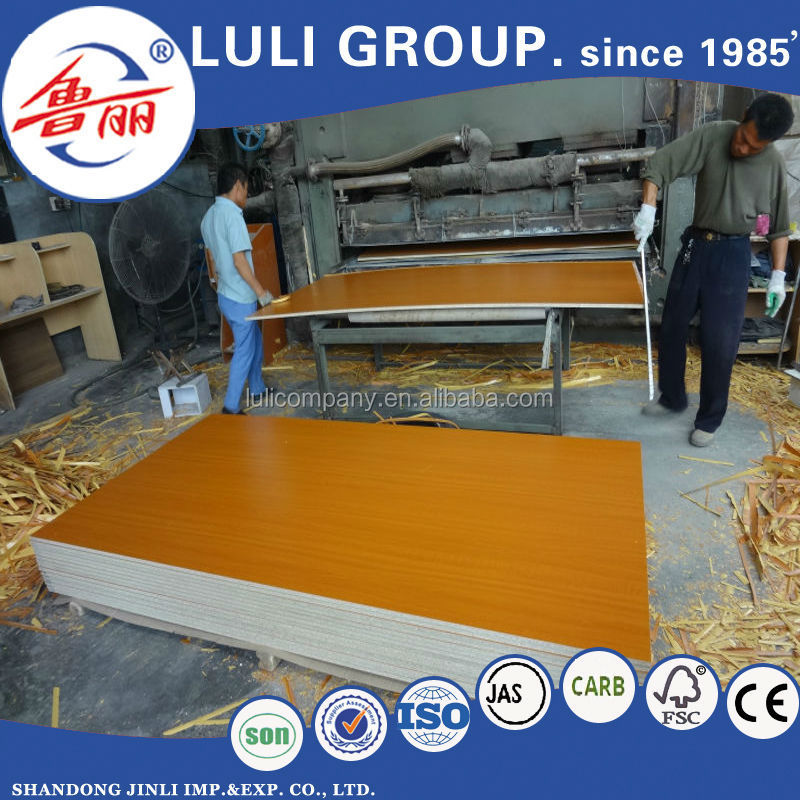 e1 grade cheap/chipboard/particle board from rice husk from luli group