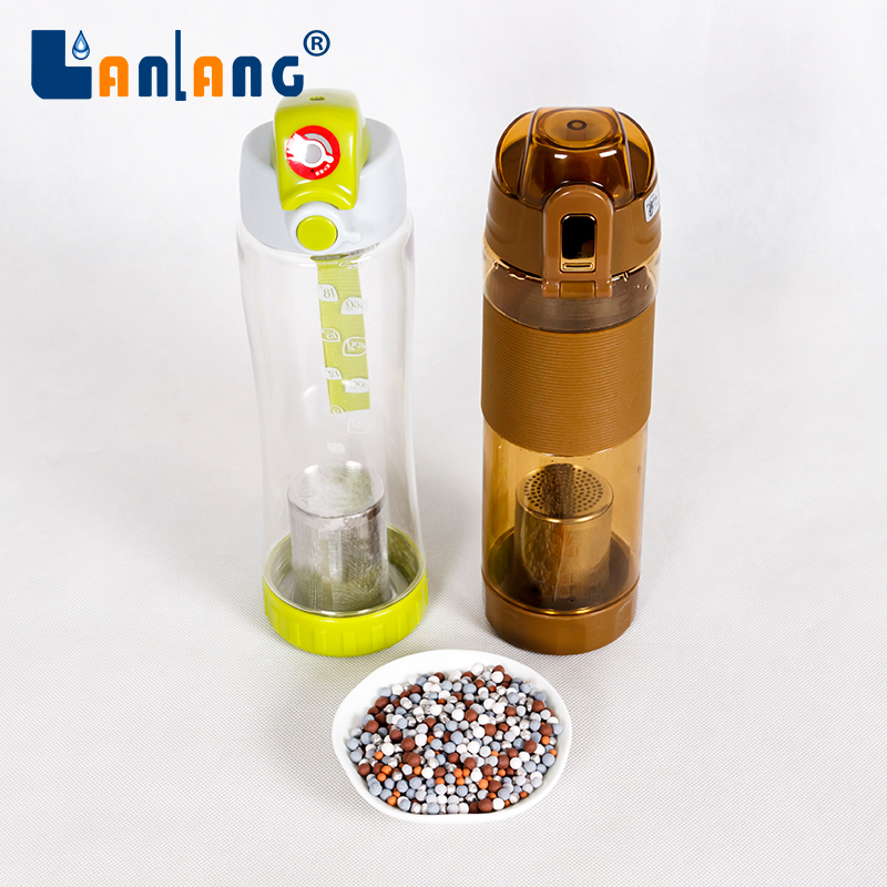 China supplier tea infuser alkaline water bottle