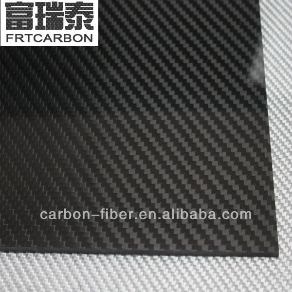 Rayon Based Carbon Fiber Board Single Carbon Fiber Arm Board