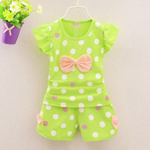 New Style girlish sweet special designed teen girl clothing set for wholesale