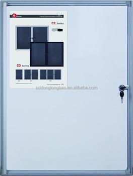 Guangdong Factory Office Wall Glass Key Cabinets Lockable Pin Board/notice  Board/whiteboard Cabinet