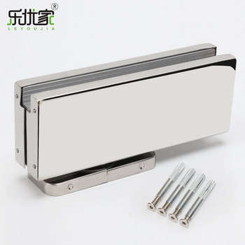 Stainless steel 304 hidden glass door closer hinge concealed hydraulic  automatic floor spring door closer, View floor spring door closer, LEYOUJIA