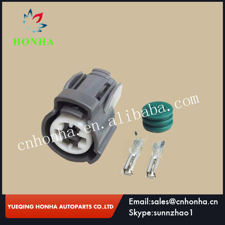 2 Pin VTEC Oil Pressure Switch, Knock Sensor Coolant Femlae Connector 6189-0156