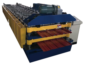 double layer galvanized roofing sheet roll forming machine/cold roll forming machine China manufacturer