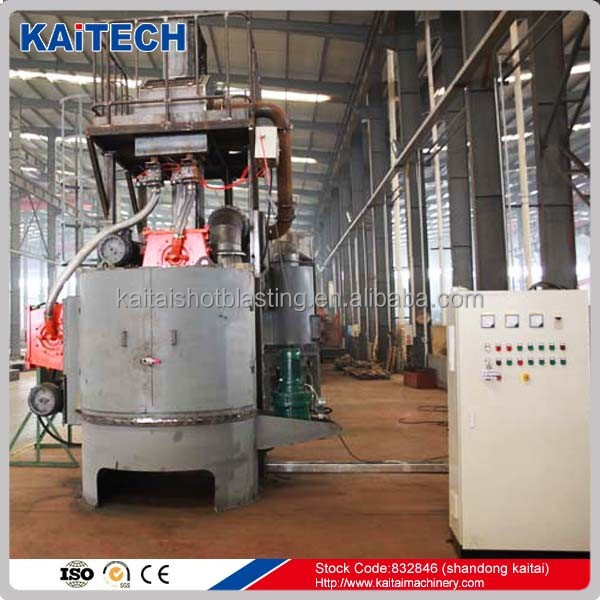 Q3525 rotary table type sandblasting machine