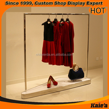 good looking design floor display unit for clothes