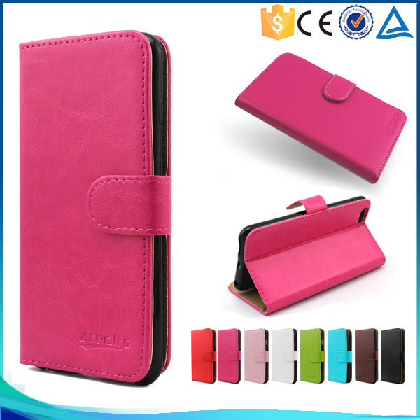Factory Price Crystal Pattern PU Leather Case For ZTE Nubia M2 , Card Slots For ZTE Nubia M2 Cases Cover
