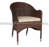 rattan chair wicker patio chair for home/hotel/restaurant/bistro