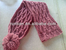Fancy Women Winter Twist Latest Acrylic Knitting Scarf