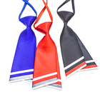 colorful double leaf ladies necktie for Career women