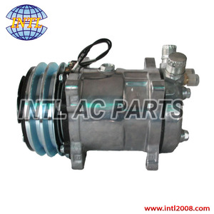 Universal Sanden SD508 SD5H14 8390 air conditioning AC compressor 2pk 12V