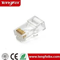 Cat6 UTP internet connection plug rj45 plugs
