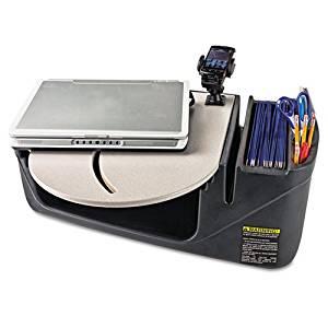 "AutoExec ""Car Desk with Laptop Mount, Supply Organizer, Gray"" Includes one RoadMaster desk. Unit of measure: EA, Manufacturer Part Number: 39000"