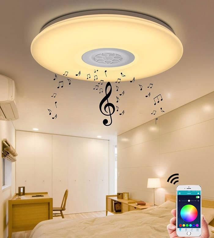 Led Ceiling Lights Bedroom Modern Minimalist Flower Creative ...