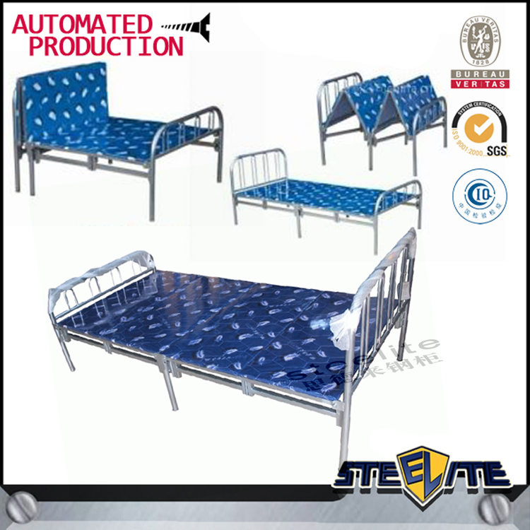 Dubai bed furniture antique iron bunk bed folding bed