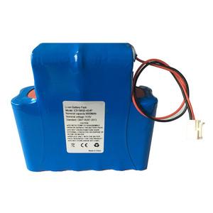Hot sales LED stage light ICR18650-4S4P 14.8V 8800MAH Li-ion battery pack