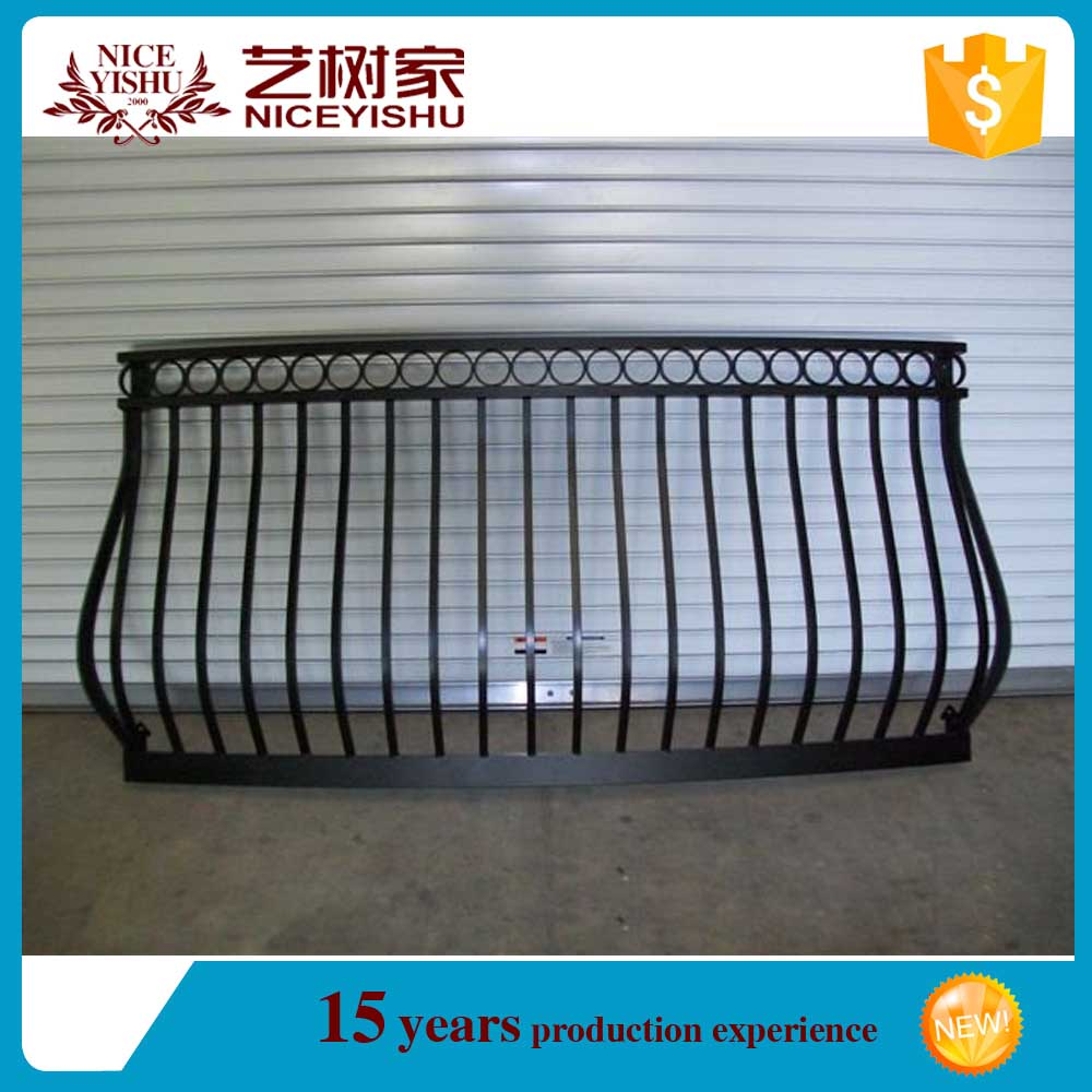 rustic modern different pictures of wrought iron balcony railing wood for homes /luxury ornamental aluminum balcony balustrade